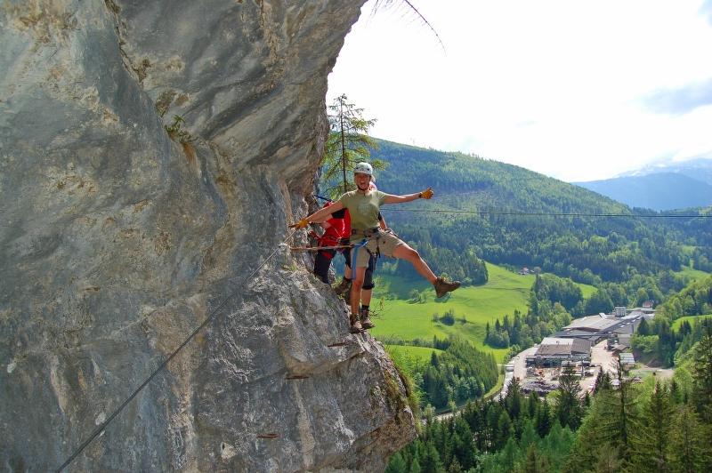 Klettersteig Karte : Klettersteig pro adventures